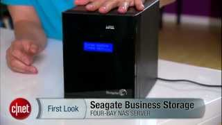 The new Seagate Business Storage 4-Bay NAS has something to impress