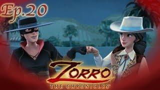 CACCIA AL TESORO   Zorro La Leggenda Episodio 20  Cartoni di supereroi