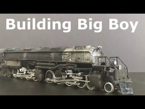Building Big Boy from Revell