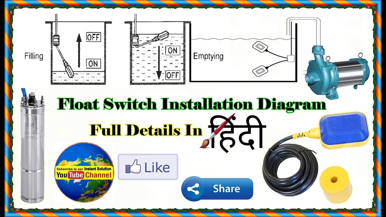 Float Switch Installation For Water Tank