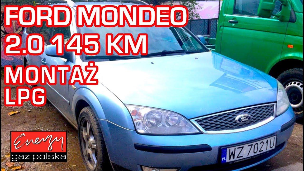 Montaż LPG Ford Mondeo MK3 2.0 145KM w Energy Gaz Polska na gaz BRC SQ 32