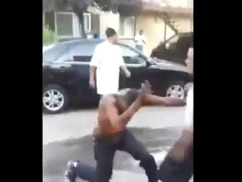 Ass crazy fight street
