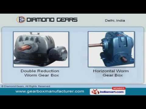 NU/H Worm Gear Box | Deepak Electrical And Engineering
