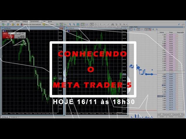 Aprendendo a usar o Metatrader 5