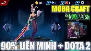 Chơi thử game Moba Craft trên điện thoại giống Liên minh và Dota 2 đến 90% cực đẹp