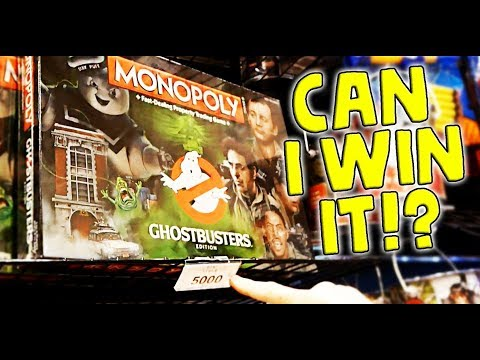 Can I Win it? Ghostbusters Monopoly At Pinstack Arcade Las Colinas Texas ArcadeJackpotPro