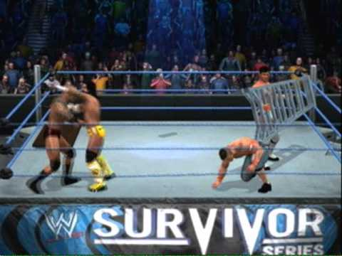 Nexus Vs John Cena & Randy Orton Tag Team TLC (WWE ...