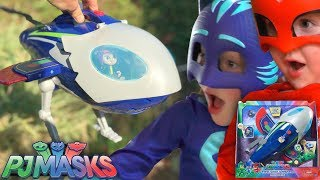 PJ Masks Wolfie Kids Steal NEW HQ Rocket