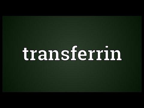 Transferrin Meaning