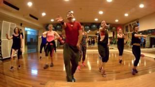 Gente de Zona-Si No Vuelves choreo-zumba-megamix 60