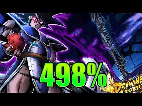 Buff Boi Turles Pulls Up! || Sparking Turles 498% Showcase || Dragon Ball Legends