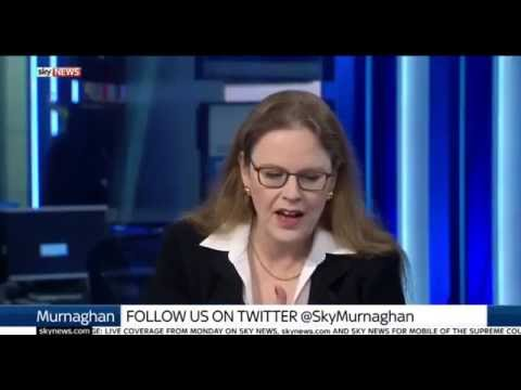 Douglas Murray, HJS Associate Director, Discussing Sunday Papers on Sky News 4/12/16