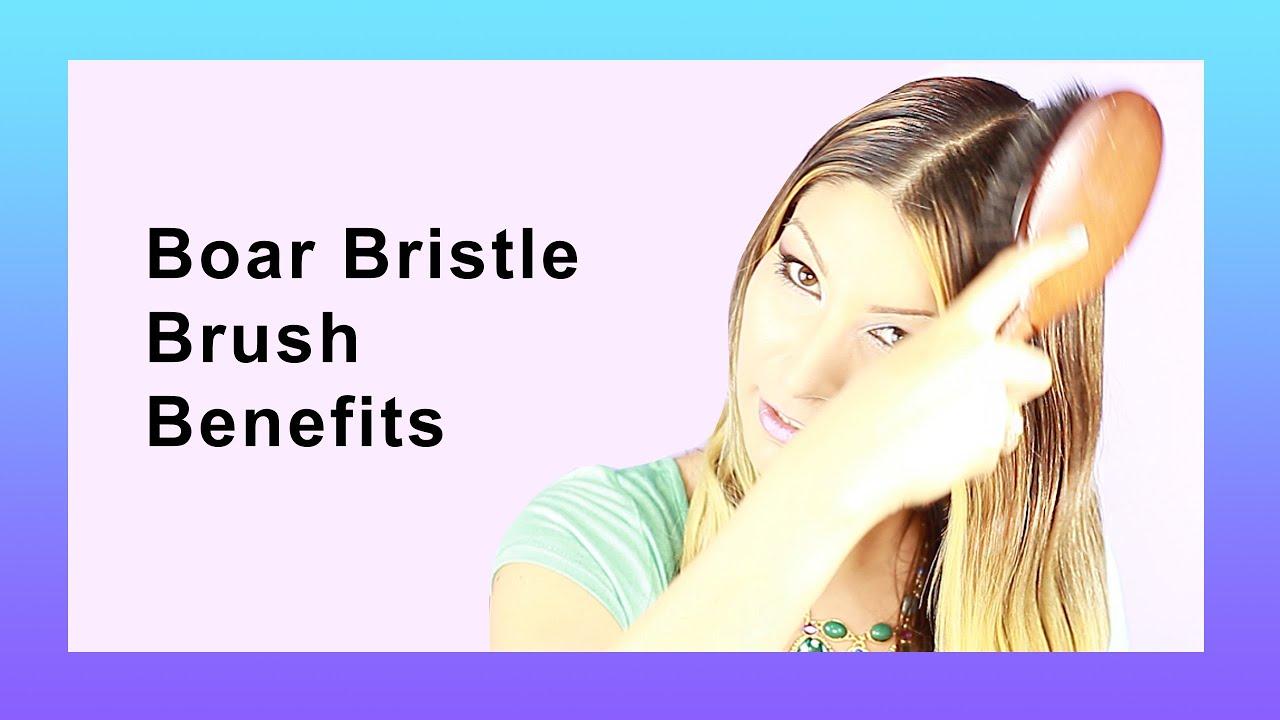 Boar Bristle Brush Benefits - YouTube