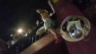 Tory lanez climbs 2 stories to balcony! Live from The Rave Milwaukee WI