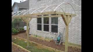 Mittleider Garden: T-frame Canopy Construction: Weatherproofing Your Garden