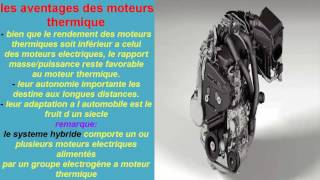 les aventages des moteurs thermique#28#