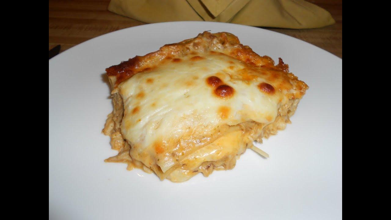 Super Lasagna De Pollo 11 Diciembre Viviana En Tu Cocina By Vivianaentucocinatv