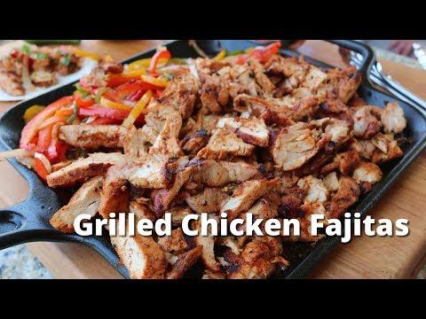 Grilled Chicken Fajitas | Chicken Fajitas on the PK360 Grill