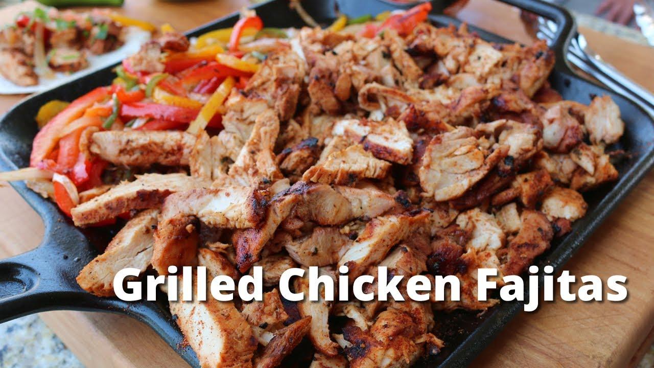 Grilled Chicken Fajitas Chicken Fajitas On The Pk360 Grill Youtube