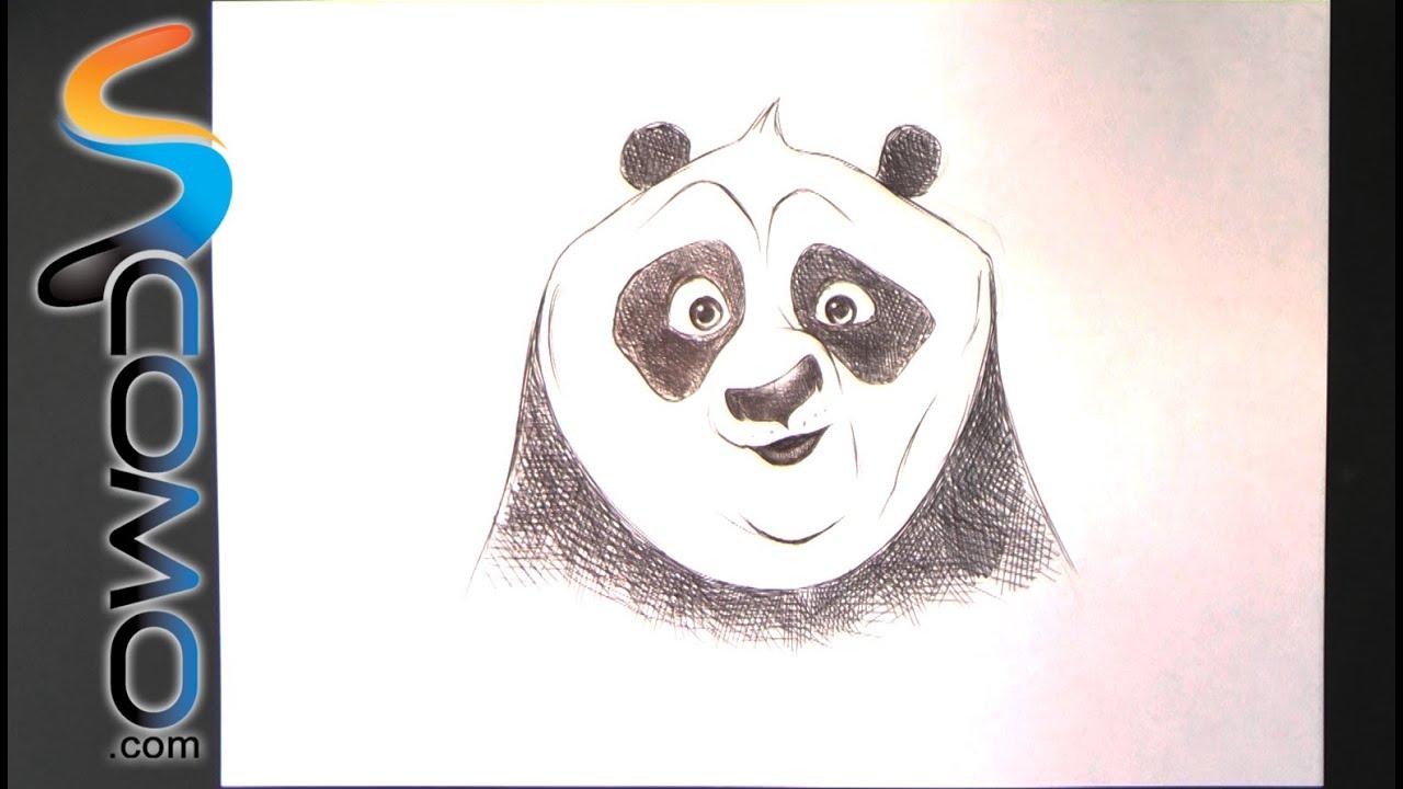 Dibujar A Po El Oso Panda
