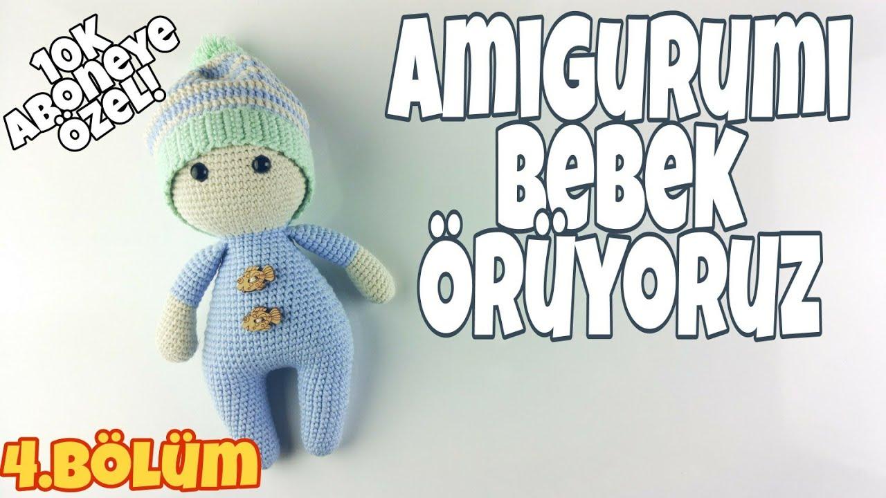 Amigurumi şapkalı erkek bebek yapımı 2.bölüm - YouTube   Bebek, Amigurumi  modelleri, Erkek bebek   720x1280