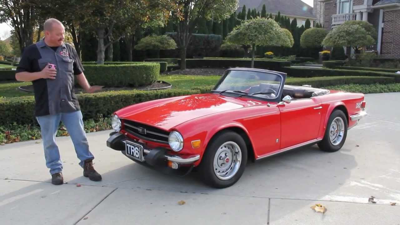 1975 Triumph TR6 Classic Muscle Car for Sale in MI Vanguard Motor ...