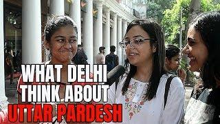 WHAT DELHI THINK ABOUT UTTAR PARDESH | PUBLIC REACTION | MINDBUSTER (DELHI, INDIA)