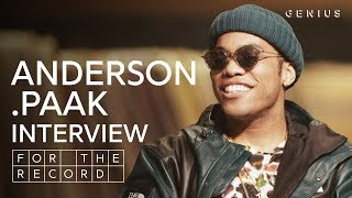 Anderson .Paak On Oxnard, Advice From Dr. Dre, And His Tribute To Mac Miller For The Record