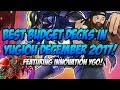 BEST BUDGET DECKS IN YUGIOH DECEMBER 2017 FEATURING INNOVATION YGO mp3