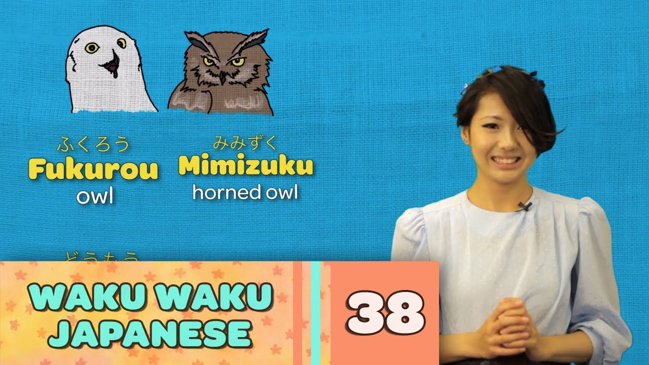 Waku Waku Japanese - Language Lesson 38: Animals