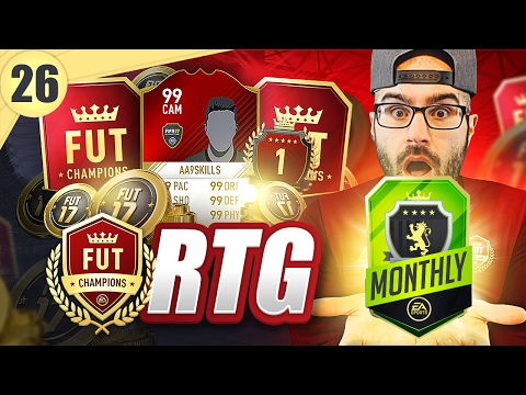 MY BEST MONTHLY FUT CHAMPION REWARDS EVER! - Road To Fut Champions - fifa 17 ultimate team #26