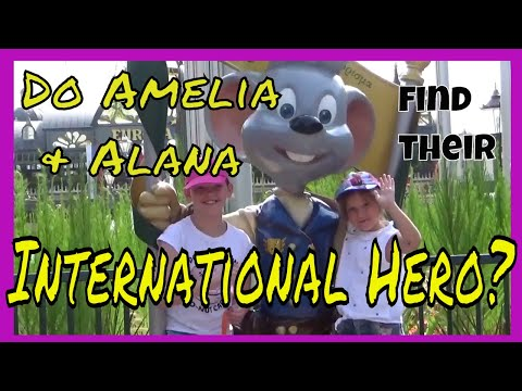 Do Amelia & Alana find their International Hero?