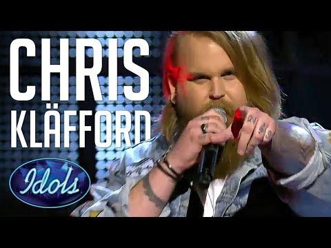 5 AMAZING Auditions Of Christoffer Kläfford On Idols Sverige 2017 | Idols Global