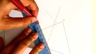 Construction 02c: Circumcircle of a Triangle