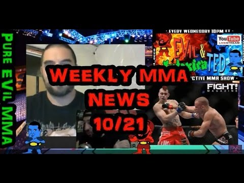 UFC NEWS: Weekly Updates (OCT 22nd)