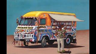 Présentation de l'African Book Truck de Paroles Indigo