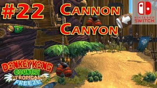 Donkey Kong Country Tropical Freeze Episode 22 Cannon Canyon