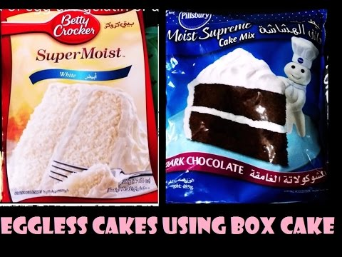Box Cake Mix No Eggs