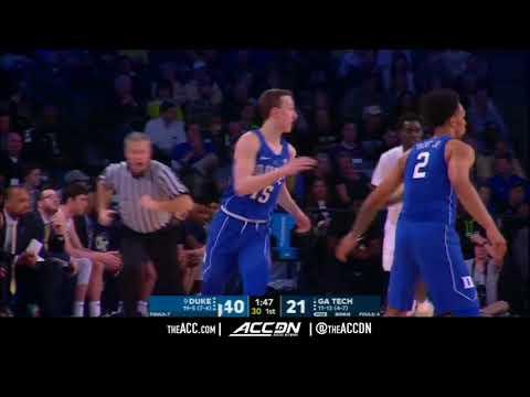 Duke vs Georgia Tech College Basketball Condensed Game 2018