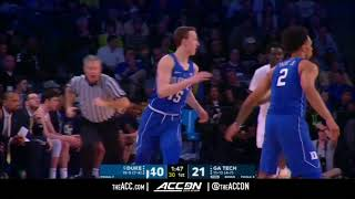 Duke vs Georgia Tech College Basketball Condensed Game 2018