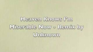 The Smiths - Heaven Knows I