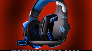 Déballage casque micro filaire Gamer PC/ Xbox /PS4 KOTION EACH G2000 - Gaming Pro Headphone