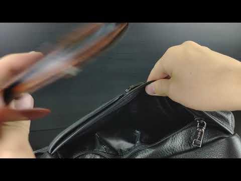 Сумка вертикальная а4 натуральная кожа Hight Touch 119049 Proffi