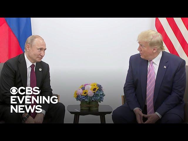 Trump jokingly asks Putin not to