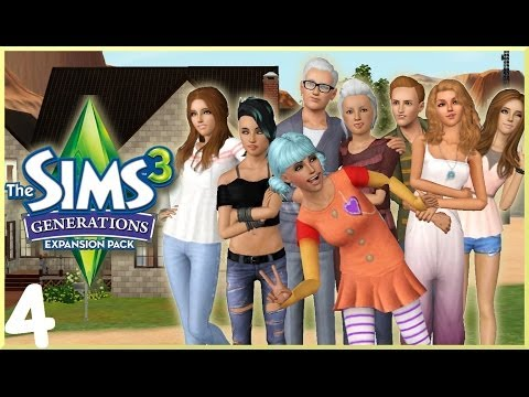 Let's Play: The Sims 3 Generations - (Part 4) - Bachelorette Party