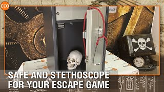 Safe and Stethoscope - for your escape game