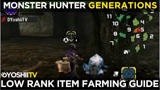 Monster Hunter Generations - Low Rank Gathering Guide