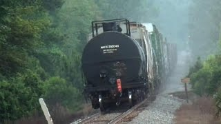 CSX Train Goes Into Emergency Then The Chase Is On