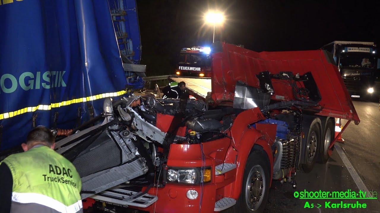 Lkw Unfall A5