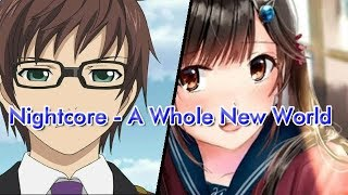 Nightcore - A Whole New World Cover
